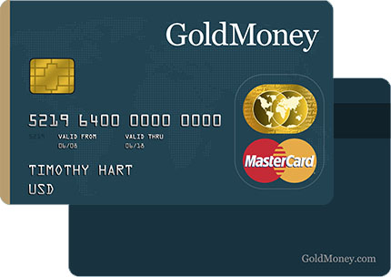 The BitGold PrePaid Card