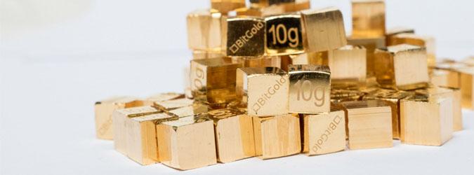 BitGold 10g Gold Cubes