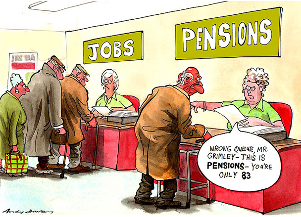 Pension Schemes Are Going Bankrupt