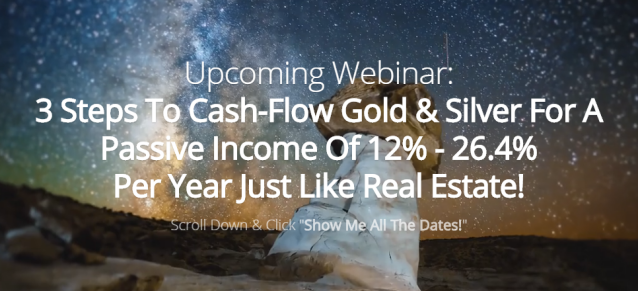 Cash Flow Gold Webinar