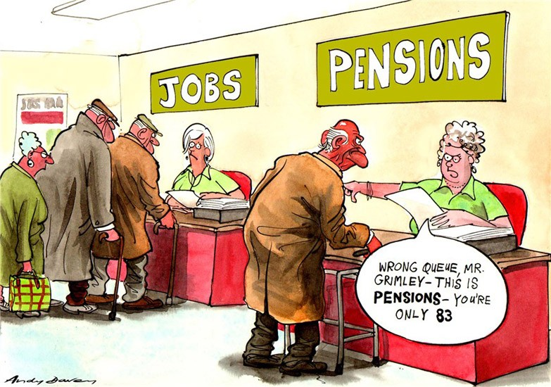 Working Past Retirement Age