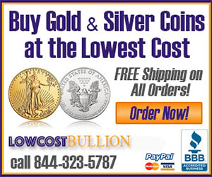 Buy Gold and Silver from Low Cost Bullion